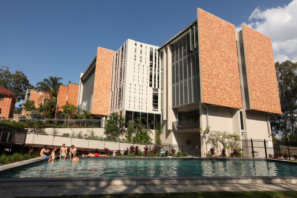 King 39 s college a residential college for men in brisbane - University of queensland swimming pool ...